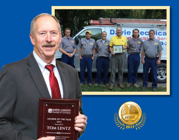 Tom Lentz, Owner, Davie Electrical Company